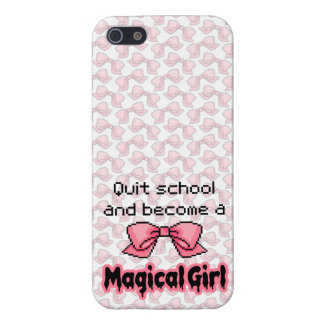 kawaii quit school become a magical girl melty iPhone SE/5/5s cover