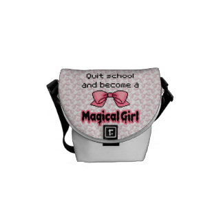 kawaii quit school become a magical girl melty courier bag