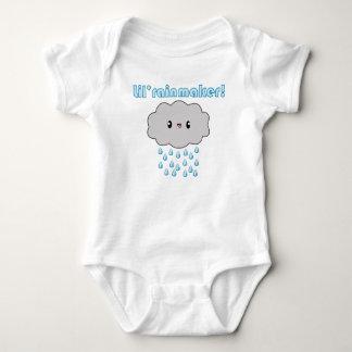 Kawaii Rain Cloud Lil Rainmaker (blue version)! Baby Bodysuit