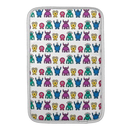 Kawaii Rainbow Alien Monsters Pattern MacBook Air Sleeve
