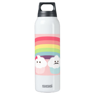 Kawaii Rainbow and Cupcakes Thermos Bottle