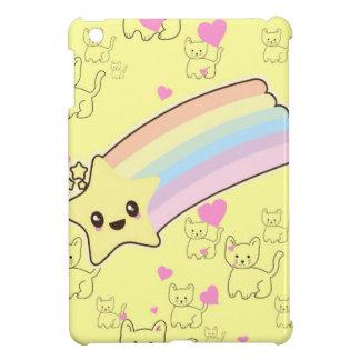 Kawaii rainbow kittens pattern so cute. So Kawaii Cover For The iPad Mini