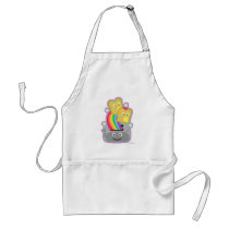 Kawaii Rainbow Toast Adult Apron