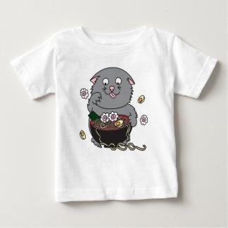 Kawaii Ramen Kitty Cat Baby T-Shirt