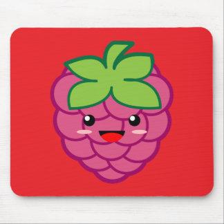 Kawaii Raspberry Mouse Pad