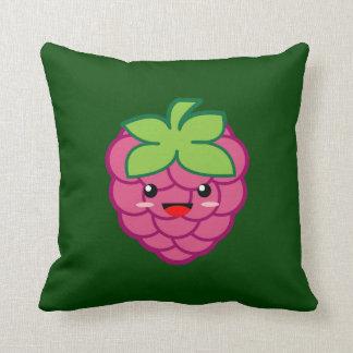 Kawaii Raspberry Pillow