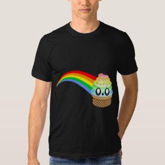 Kawaii Rave Ice Cream Cone Rainbow T Shirt