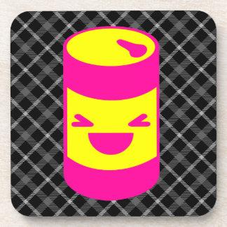 Kawaii Rave Soda Pop Can Coaster