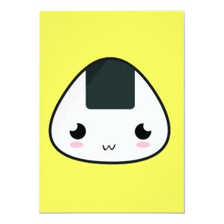 Kawaii Rice ball Card