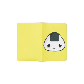 Kawaii Rice ball Pocket Moleskine Notebook