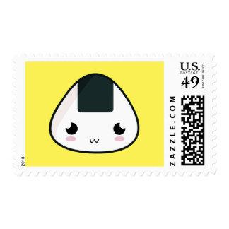 Kawaii Rice ball Stamps