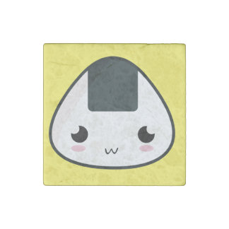 Kawaii Rice ball Stone Magnet