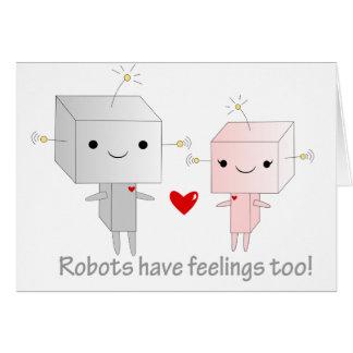 Kawaii Robots Card