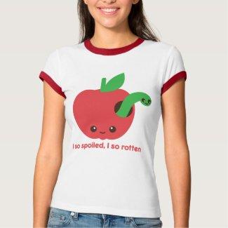Kawaii Rotten Apple shirt