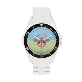 Kawaii Rudolph Reloj