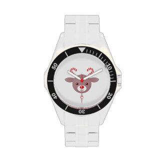 Kawaii Rudolph Relojes De Pulsera
