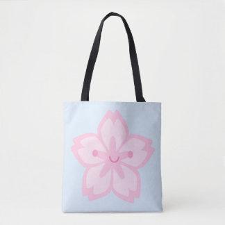 Kawaii Sakura Cherry Blossom Flower Tote Bag