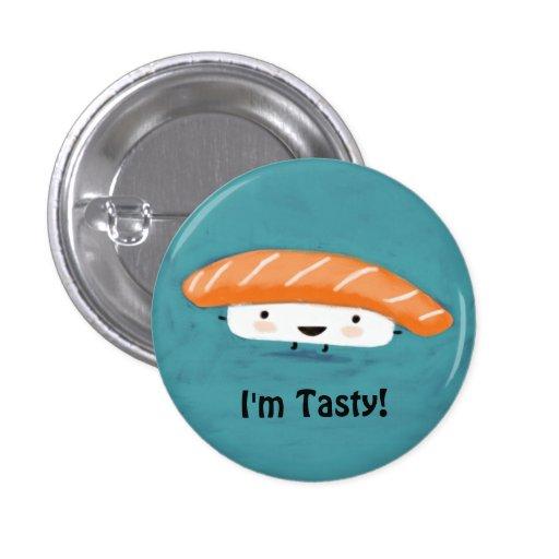 Kawaii Salmon Sashimi Pins