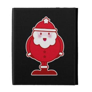 Kawaii Santa iPad Folio Case