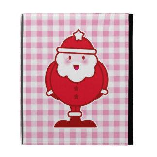 Kawaii Santa iPad Folio Cover