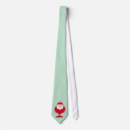Kawaii Santa Corbatas Personalizadas