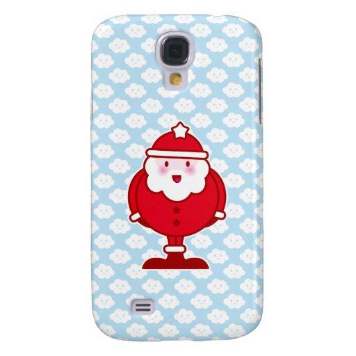 Kawaii Santa Funda Para Galaxy S4