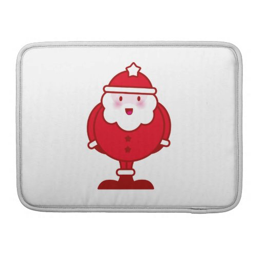 Kawaii Santa Fundas Para Macbook Pro