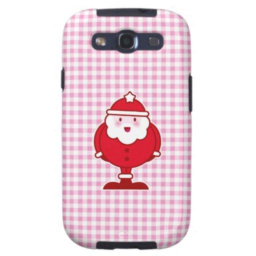 Kawaii Santa Galaxy S3 Cárcasa