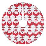 Kawaii Santa Falda De Árbol De Navidad De Poliéster