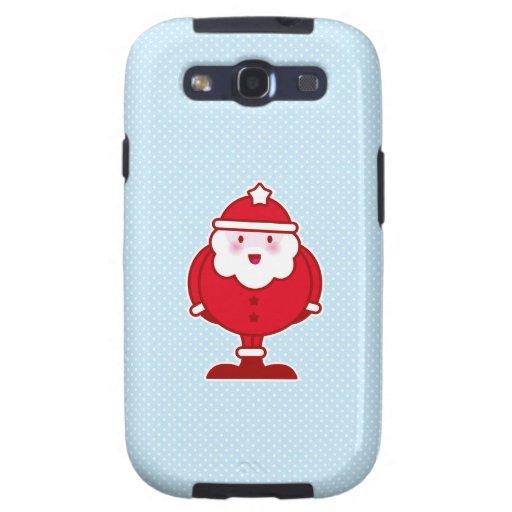 Kawaii Santa Samsung Galaxy SIII Funda