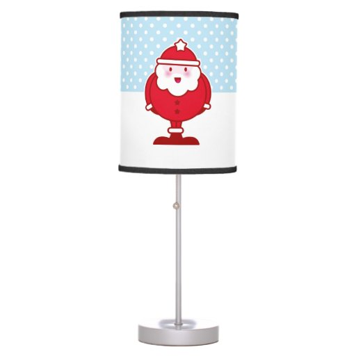 Kawaii Santa Table Lamps