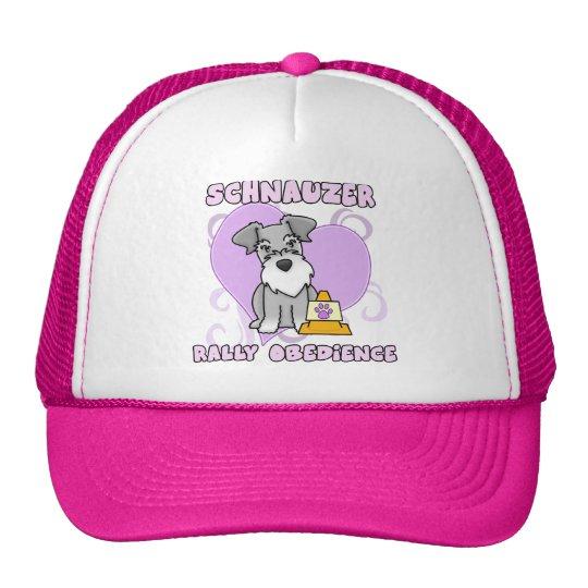Kawaii Schnauzer Rally Obedience Trucker Hat