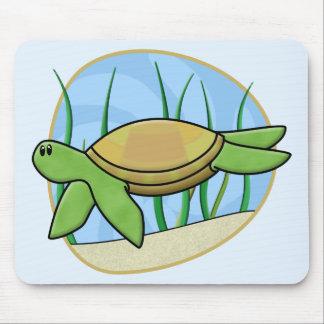 Kawaii Sea Turtle Mousepad