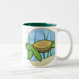 Kawaii Sea Turtle Mug