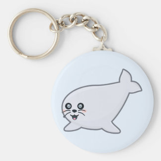 Kawaii Seal Keychain