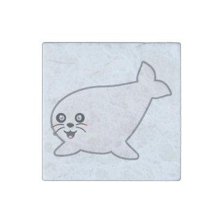 Kawaii Seal Stone Magnet