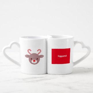 Kawaii Set De Tazas De Café