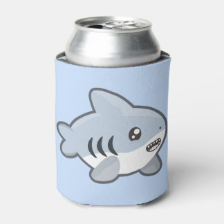Kawaii Shark Can Cooler
