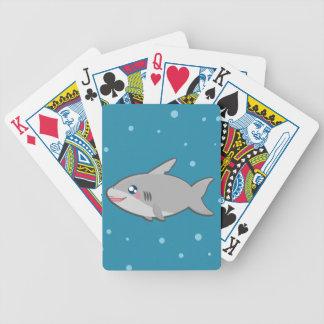 Kawaii shark game cards