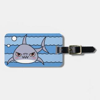 Kawaii Shark Luggage Tag