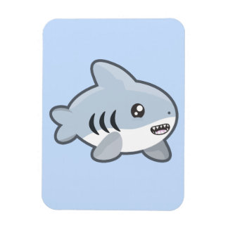 Kawaii Shark Magnet