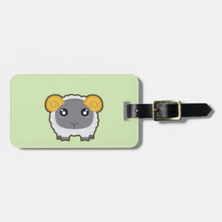 Kawaii sheep bag tag