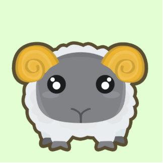 Kawaii Sheep Cutout