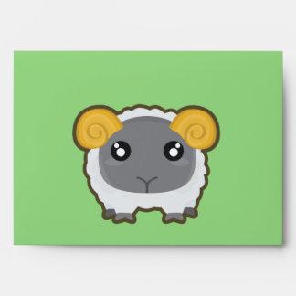 Kawaii Sheep Envelope