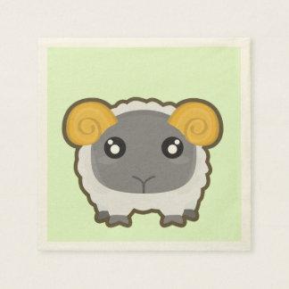 Kawaii Sheep Napkin