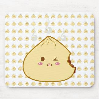 """Kawaii """"SioPao"""" Meatbun Bitemark Mouse Pad"""