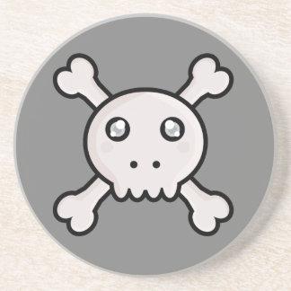 Kawaii skull coaster