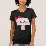 Kawaii Skull Cupcake Tee Shirts