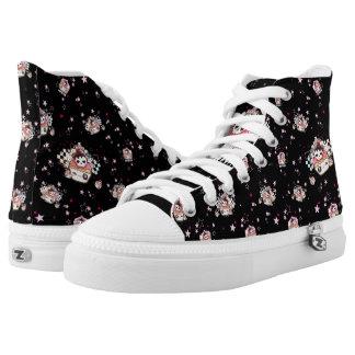 Kawaii skull cupcakes High-Top sneakers