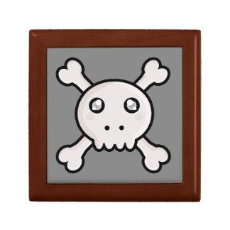 Kawaii skull keepsake box